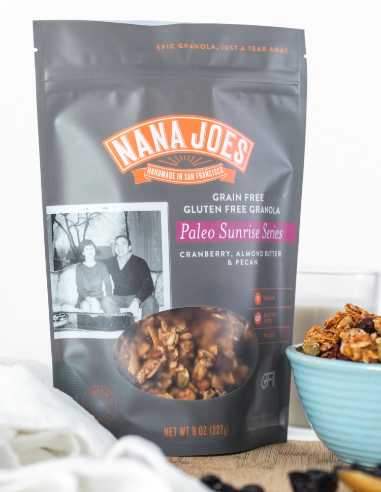 Nana Joe's granola from San Francisco California their Paleo Sunrise Series.